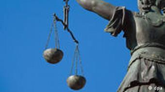 Scales representing justice