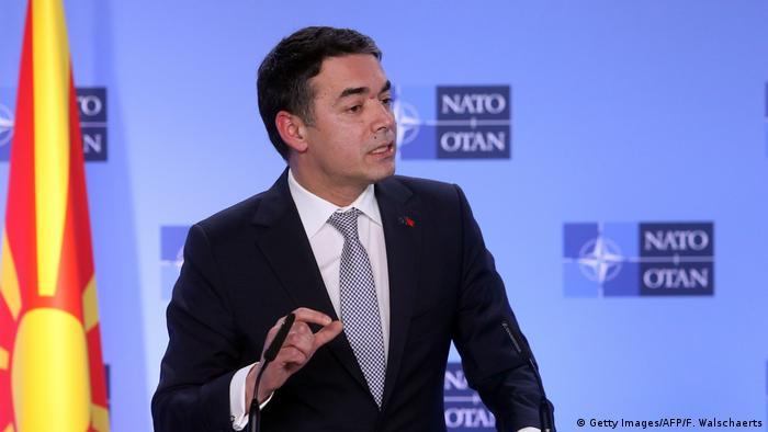 NATO-Staaten unterzeichnen Beitrittsprotokoll mit der künftigen Republik Nordmazedonien