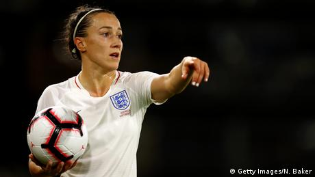 Lucy Bronze, Fußballspielerin Nationalmannschaft England (Getty Images/N. Baker)