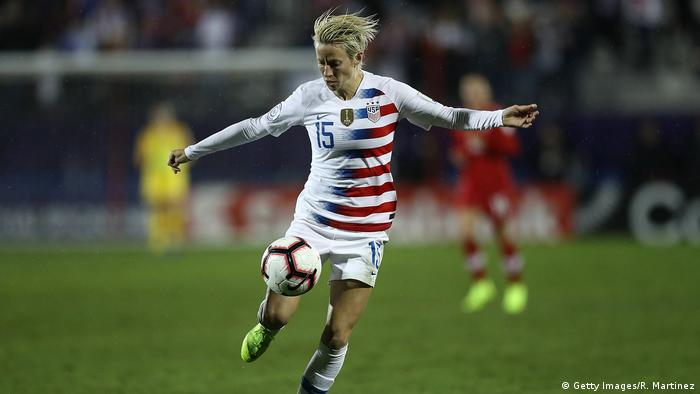 Megan Rapinoe, Fußballspielerin Nationalmannschaft USA (Getty Images/R. Martinez)