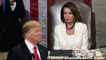 USA | Donlad Trump und Nancy Pelosi | Rede zur Lage der Nation
