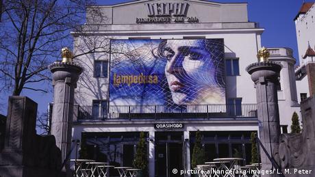 Kino Delphi Filmpalast, Berlin, Fassade (picture-alliance/akg-images/ L. M. Peter)