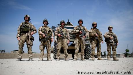 German soldiers in Afghanistan in 2013