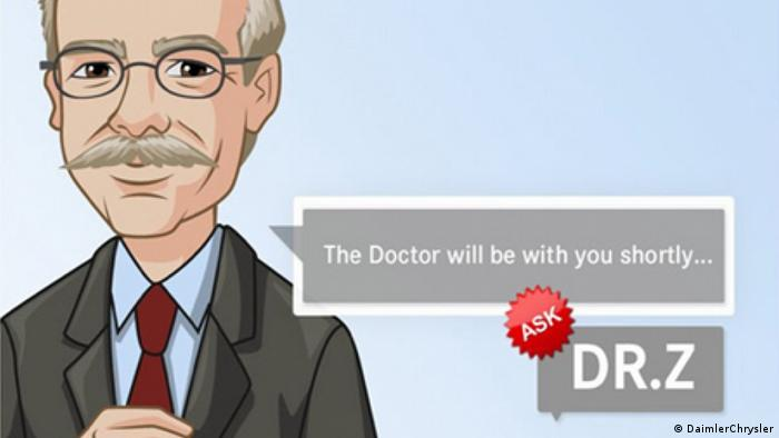 Ask Dr. Z, better known as Dieter Zetsche