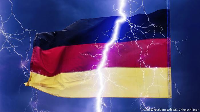 Burza w Niemczech