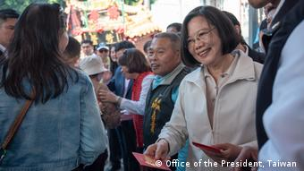 Taiwan Präsidentin Tsai Ing-wen (Office of the President, Taiwan )
