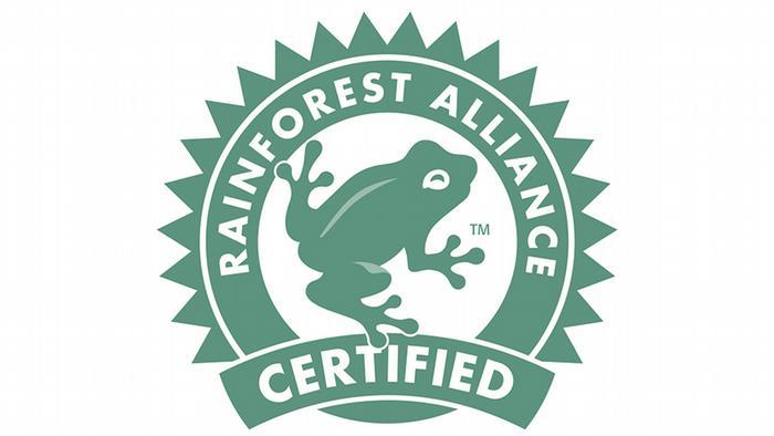 Siegel der Rainforest Alliance