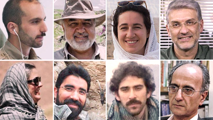 Kombi-Bild Umwelt Aktivisten Iran