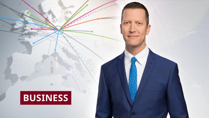 DW Business Moderator Ben Fajjzullin (Artikelbild Detailseite)
