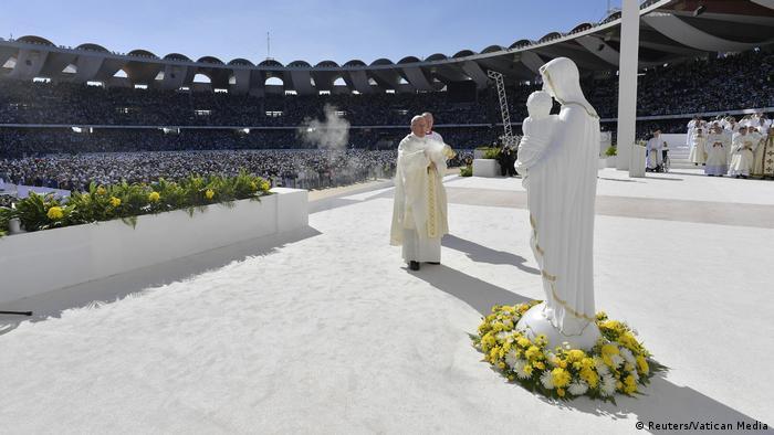 Papst Franziskus zu Besuch in Abu Dhabi (Reuters/Vatican Media)