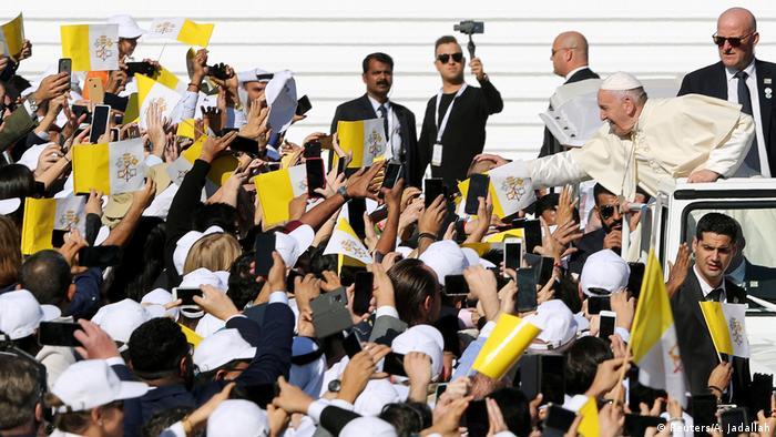 Papst Franziskus zu Besuch in Abu Dhabi (Reuters/A. Jadallah)