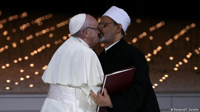 Papst Franziskus zu Besuch in Abu Dhabi (Reuters/T. Gentile)