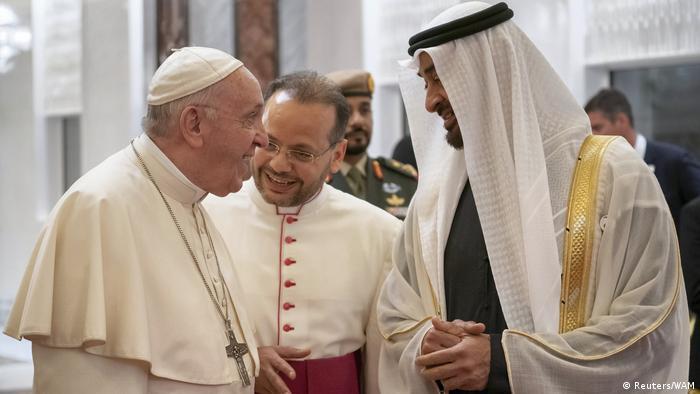 Papst Franziskus zu Besuch in Abu Dhabi (Reuters/WAM)