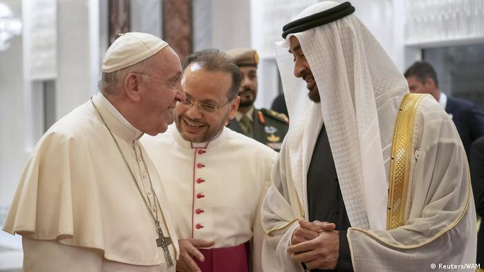 Papst Franziskus zu Besuch in Abu Dhabi