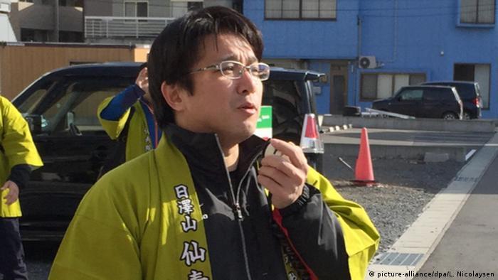 Japanische Gemeinde übt für nächsten Tsunami (picture-alliance/dpa/L. Nicolaysen)