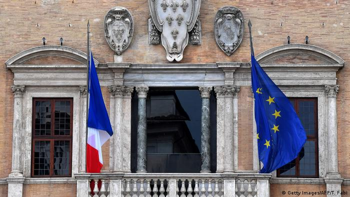 The French Embassy in Rome
