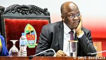 Tansania Daressalam Präsident John Magufuli