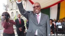 Mosambik Maputo - Eneas Comiche, die neue Bürgermeister von Maputo