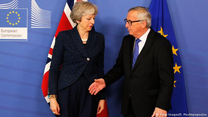 Belgien Brüssel Theresa May und Jean-Claude Juncker (Getty Images/D. Mouhtaropoulos)