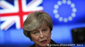 Belgien Brüssel Theresa May