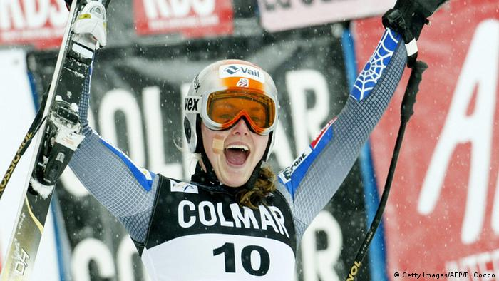 Cortina d'Ampezzo Welt Cup Abfahrt 2004 Lindsey Kildow (Getty Images/AFP/P. Cocco)