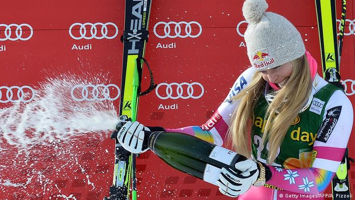 Cortina D'Ampezzo Super G Lindsey Vonn 2015 (Getty Images/AFP/A. Pizzoli)