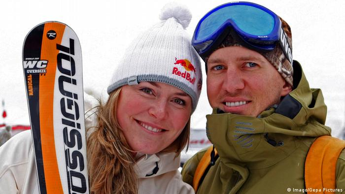 Lindsey Vonn mit ihrem Mann Thomas Vonn (Imago/Gepa Pictures)
