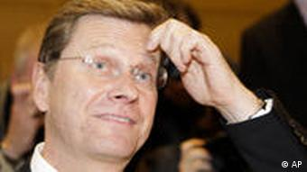 Westerwelle scratching his head
