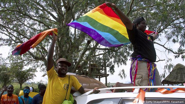 Uganda Entebbe Gay Pride Parade 2014