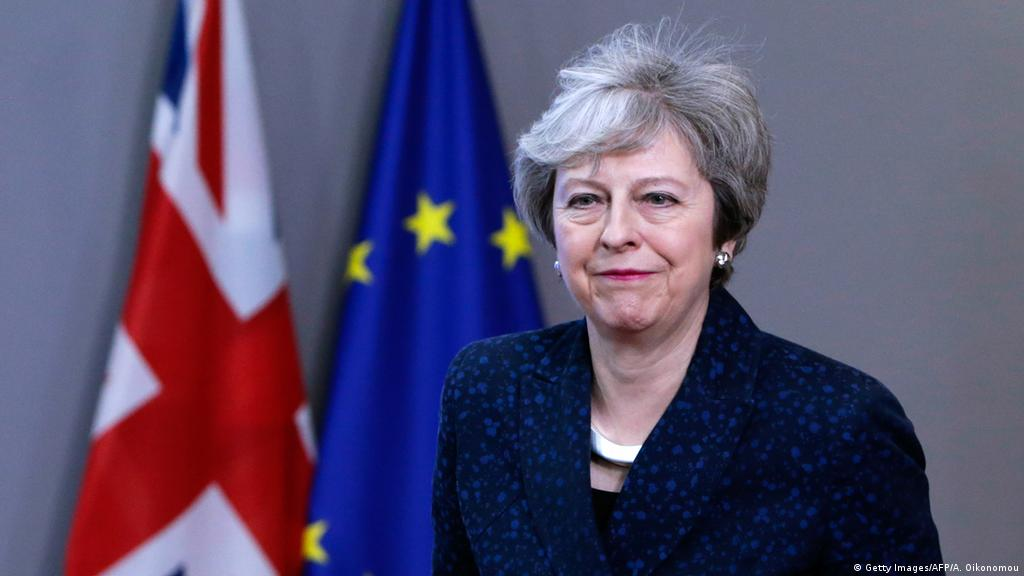 Brüssel besuch Theresa May Brexit Nachverhandlungen (Getty Images/AFP/A. Oikonomou)