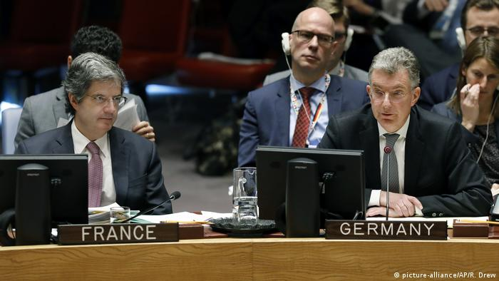 USA, New York: UN - Christoph Heusgen - Deutschland (picture-alliance/AP/R. Drew)