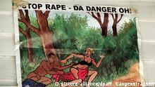 Symbolbild: UNICEF in Sierra Leone - Plakat gegen Vergewaltigung