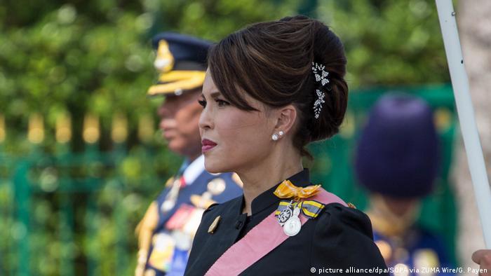 Prinzessin Ubolratana bei der Beisetzung ihrers Vaters im Oktober 201