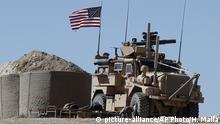 Syrien US Soldaten bei Manbidsch