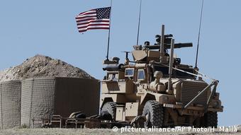Unidades estadounidenses en territorio sirio.