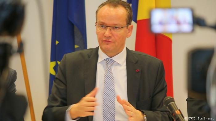 Rumänien | Mitglieder des Deutschen Bundestages in Bukarest (DW/C. Ștefănescu)