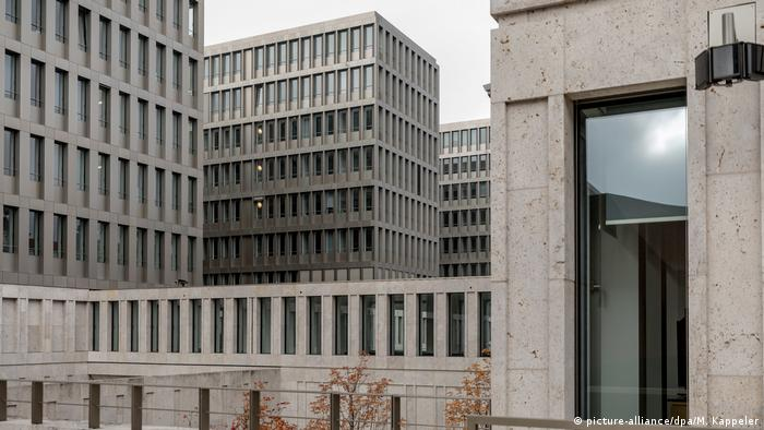 Germany's foreign intelligence headquarters in Berlin (picture-alliance/dpa/M. Kappeler)