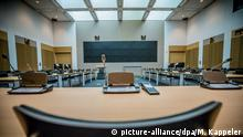 A meeting room inside the headquarters of the German foreign intelligence service (BND) in Berlin, Germany