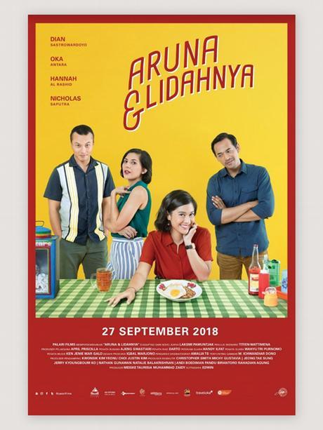 Aruna & Lidahnya Filmposter