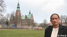 Indonesischer Student in München Masduki