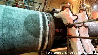 Gas-Pipeline Nord Stream 2 kommt voran