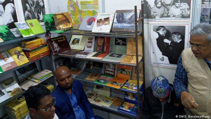 Bangladesch Kolkata Buchmesse (DW/S. Bandopadhyay)