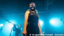 Spanien Maria Alyokhina beim Pussy Riot Konzert in Madrid