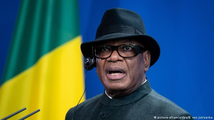 Mali's President Keita (photo: picture-alliance/dpa/B. von Jutrzenka)