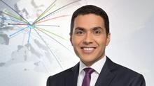DW Nachrichten arabisch Moderator Falah Elias (Teaser)