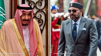 Kombo König Salman ibn Abd al-Aziz, Saudi-Arabien & König Mohammed VI., Marokko