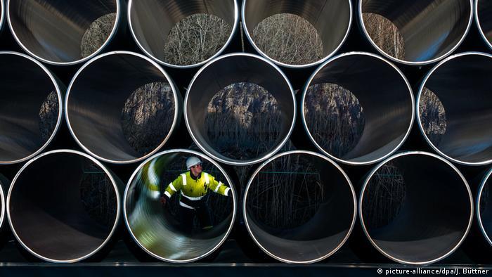 Трубы для газопровода Северный поток - 2