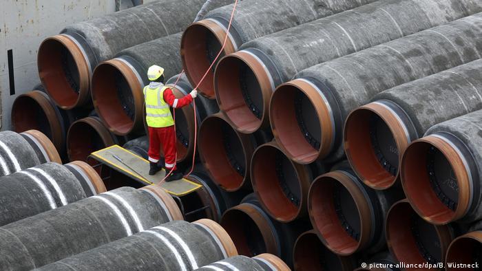 Ostseepipeline Nord Stream 2 (picture-alliance/dpa/B. Wüstneck)