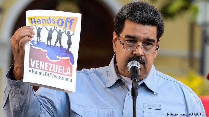 Venezuela Caracas Nicolas Maduro (Getty Images/AFP/F. Parra)