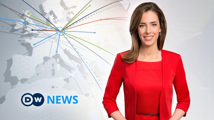 DW News Moderatorin Sarah Kelly (Artikelbild Detailseite)
